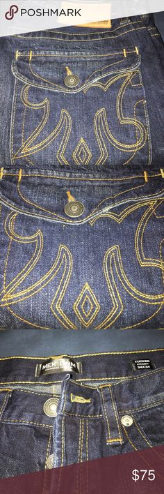 Men's Straight Leg Jeans Men's straight leg jeans. 34x34. No rips or tears.  No missing buttons. MEK Jeans Straight
