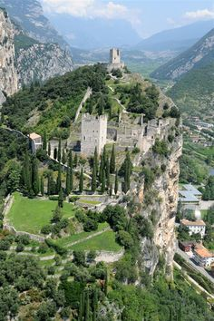Castello di Arco..... #Relax more with healing sounds: