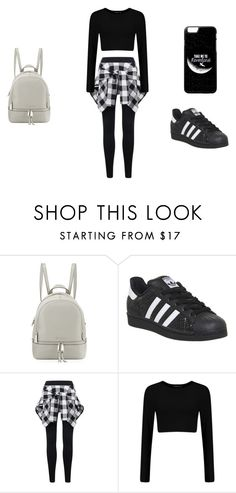 """""""its whatever"""" by ashleaxlou on Polyvore featuring MICHAEL Michael Kors and adidas"""