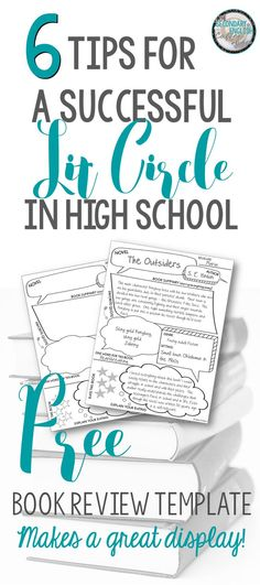 IMG_5047 Scuola Pinterest   Book Report Template For High School  High School Book Report Outline