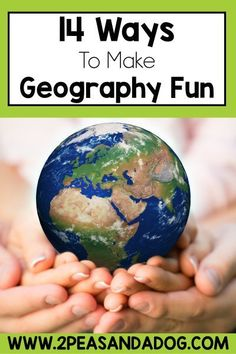 Use these middle school geography activities to help make your geography lesson plans engaging and fun from 2 Peas and a Dog. Geography Lesson Plans, Geography Activities, Geography For Kids, Physical Geography, Activities For Teens, Middle School Activities, Social Studies Curriculum, Social Studies Classroom, Curriculum Planning
