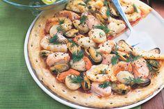 Create a marinara pizza at home in 30 minutes flat.