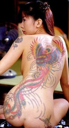 big phoenix tattoo