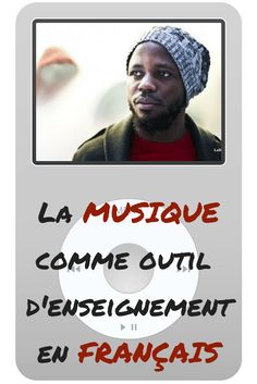Music as a teaching tool in French. Use You Tube in the classroom to introduce Francophone culture. Study French, Core French, French Teacher, Teaching French, How To Speak French, Learn French, High School French, French Verbs, French Songs