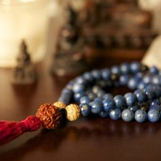 Mala Beads and Prayer Beads  A Japa Mala or mala (meaning garland) is a set of beads commonly used by Hindus and Buddhists, usually made from 108 beads, though other numbers divisible by 9 can be used. Malas are used for keeping count while reciting, chanting, or mentally repeating a mantra.