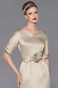 Vestido de madrina de ottoman modelo 3443 by Teresa Ripoll | Boutique Clara