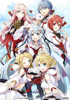 Hatsune Miku Vocaloid Anime In Resolution Vocaloid Kaito, Kaito Shion, Kagamine Rin And Len, Anime Chibi, Miku Chibi, Manga Anime, Anime Art, Anime Best Friends, Tamako Love Story