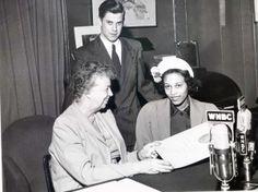 Eleanor Roosevelt Robert Vinter Hazel Harris 1951