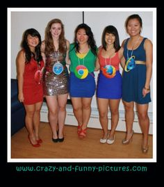 Funny Halloween Costume: Internet Browsers Costumes... Check out the hilarious updates of pics every day. Funny Costume Pictures are all posted below. Latest Funny Costumes Updates...