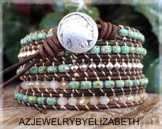 Native American Beaded Bracelet Seed Bead by AZJEWELRYBYELIZABETH