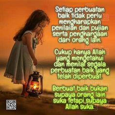 Cukup Hanya Allah Yang Mengetahui Muslim Quotes, Islamic Quotes, Beautiful Moon, Allah, Life Quotes, Knowledge, Humor, Pictures, Quotes About Life