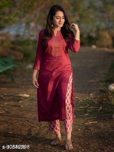 Dupatta Sets designer kurti with pant  Kurta Fabric: Rayon Bottomwear Fabric: Cotton Blend Fabric: Rayon Sleeve Length: Three-Quarter Sleeves Set Type: Kurta With Bottomwear Bottom Type: Pants Pattern: Printed Multipack: Pack Of 2 Sizes: M (Bust Size: 38 in Shoulder Size: 14.5 in Kurta Waist Size: 36 in Kurta Hip Size: 40 in Kurta Length Size: 44 in)  Country of Origin: India Sizes Available: M, L, XL, XXL   Catalog Rating: ★4 (447)  Catalog Name: Women Rayon Straight Printed Palazzos Dupatta Set CatalogID_1936867 C74-SC1853 Code: 635-10582908-0831