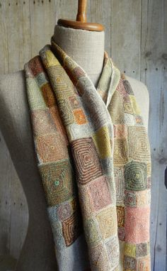 """""""OP"""" wool scarf 