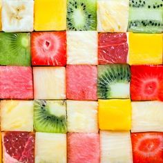 cubes, food, and fruit imageの画像