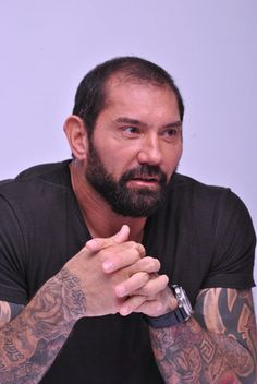 Dave Bautista Born On January 18 Batista Wwe, Hot Guys Eye Candy, Dave Bautista, Wwe Champions, Marvel Actors, Dream Boy, Undertaker, Human Anatomy, Buy Posters