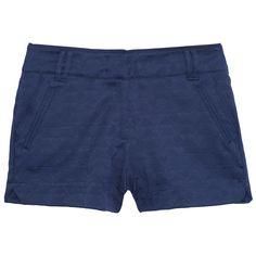 Shorts alfaiataria jacquard étnico