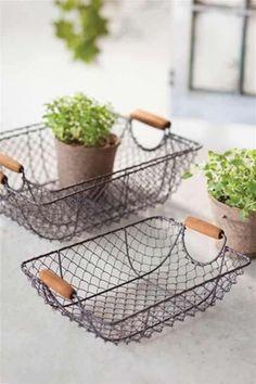 Nesting Wire Baskets by Vagabond Vintage®