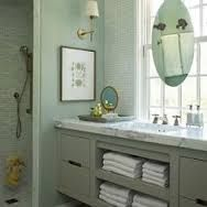 Image result for bathroom mirror in front of window