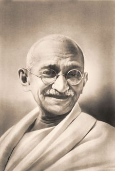 Mahatma Gandhi is considered the father of the nonviolent independence movement in India
