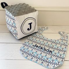 Just finished this custom nautical gift for Jackson! Nautical Gifts, Nautical Baby, Clothes Line, Personalized Baby, Baby Bibs, Jackson, Instagram, Bibs, Jackson Family