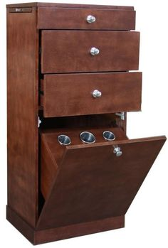 Affordable Salon Stations   Styling Stations Salon Furniture Equipment Cherry Wood Cabinet