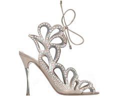 Nicholas Kirkwood's jeweled ankle-strap gladiators. Absolute perfection.