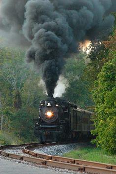 The Cuyahoga Valley Scenic Railway (CVSR) Train