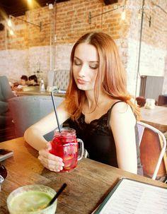 #woman #girl #slovakia #redhead #redhair #ginger #gingerhair #lemonade #drink #photography