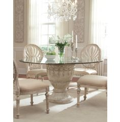 empire ii glass top table casual dining dining rooms art van furniture art dining room furniture