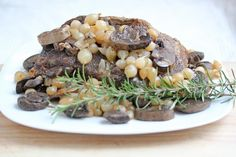 Holiday Beef Roast with Mushrooms and Pearled Onions | 5DollarDinners.com