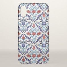 #Iznik Tiles iPhone X Case - #floral #gifts #flower #flowers