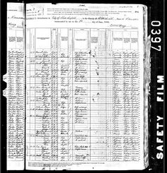 Genea-Musings: Treasure Chest Thursday - 1880 U.S. Census for Abigail A. Smith Family