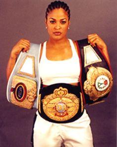 Laila Ali Female Boxer