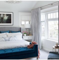 Bedroom inspo #22 TEAL. Yes. So much yes.