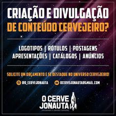 Fala galerinha! Deem uma conferida no trabalho do nosso querido @o_cervejonauta! Recomendo  #Repost  QUERENDO SE DESTACAR NO MERCADO CERVEJEIRO NÃO APENAS PELO DELICIOSO LÍQUIDO QUE COMPÕE CADA GARRAFA?  @o_cervejonauta além de divulgação e avaliação também faz a criação de Logotipos Rótulos Postagens (IG e FB) Catálogos Embalagens para Kits Anúncios e tudo mais que sua empresa precisa para divulgar seu produto e se destacar no Universo Cervejeiro ou como eu mesmo chamo Beerniverso…