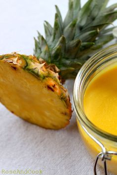 Ananas Curd {pâte à tartiner}