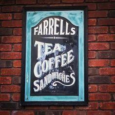 Farrells ghost sign in Dublin