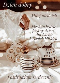 Place Cards, Sunday, Place Card Holders, Polish Sayings, Poster, Domingo