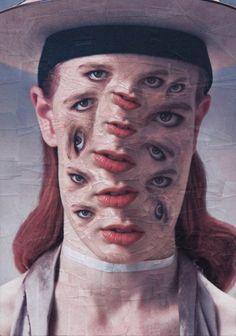 The art of Collage: Lola Dupré. #art