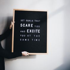 "263 Likes, 9 Comments - CHAR co (@charcompany) on Instagram: ""Set goals that scare you and excite you at the same time. Weekend reminder, friends!"""