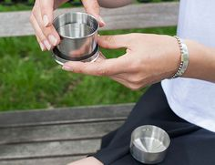 Kikkerland Design Inc » Products » Collapsible Camping Cup