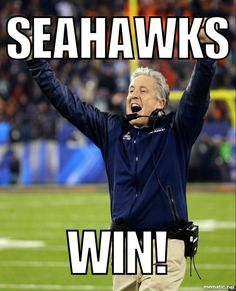 In coach we trust Seahawks Memes, Seahawks Gear, Seahawks Fans, Seahawks Football, Seattle Seahawks, Nfl Football Teams, Best Football Team, Football Helmets, Football Fever