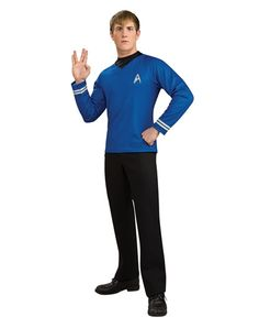 Find Star Trek costumes from the hit movie for Halloween. Find the red Star Trek costume and female Star Trek costumes. Get Star Trek Halloween costumes at great prices. Star Trek Shirt, Star Trek Kostüm, Costume Shirts, Dress Up Costumes, Movie Costumes, Adult Costumes, Costume Ideas, Cosplay Costumes, Naruto Costumes