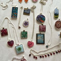 More jewellery donated to Boise Idaho Chrysalis charity #loveresin #resinearrings #resinpendants #resinbracelet very happy to support them.