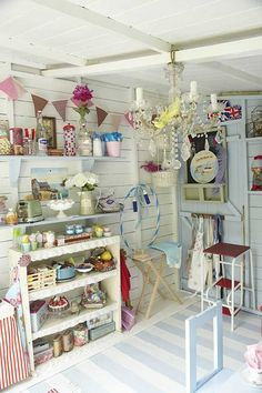 I wanna be a little girl again to have a playroom like this