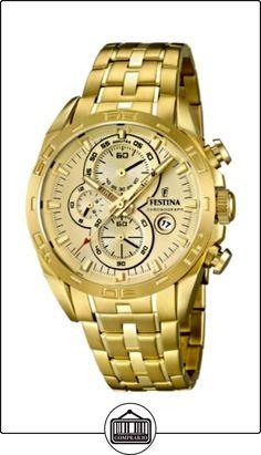 Festina herren armbanduhr analog quarz edelstahl f16654 2