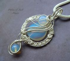 Hey, I found this really awesome Etsy listing at https://www.etsy.com/listing/197300874/opalite-silver-pendant-wire-wrapped