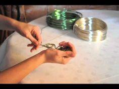 Tuto bracelet rond en fil d'aluminium : Cathoo Créa