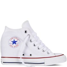 b48a91fa95bf Chuck Taylor All Star Lux Wedge white. Totally using these shoes for my  wedding Converse