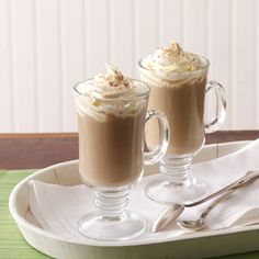 Creamy Irish Coffee Recipe from Taste of Home